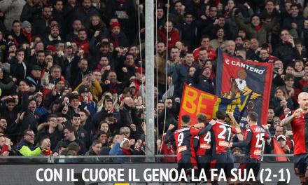 Son tornati i genoani, è ritornato il Genoa