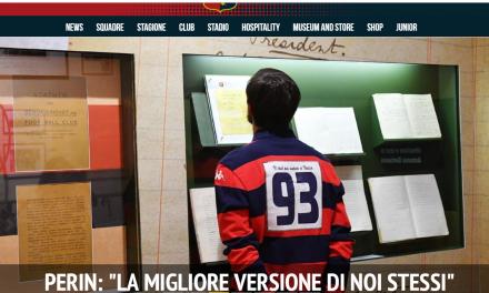 Dal Sito ufficiale del Genoa