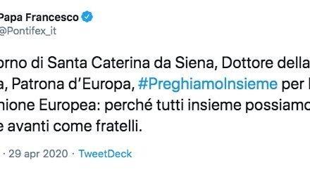 Perchè caro Francesco