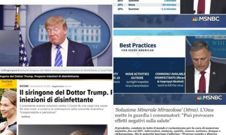 Trump e le iniezioni di Varechina