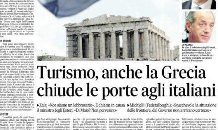 Adesso è colpa della Grecia