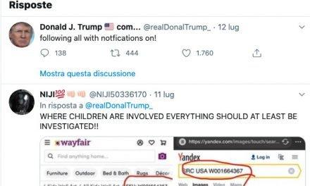 Pedofilia e Trump