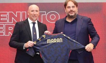 Conferenza stampa Maran