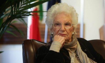 Senatrice a vita Liliana Segre